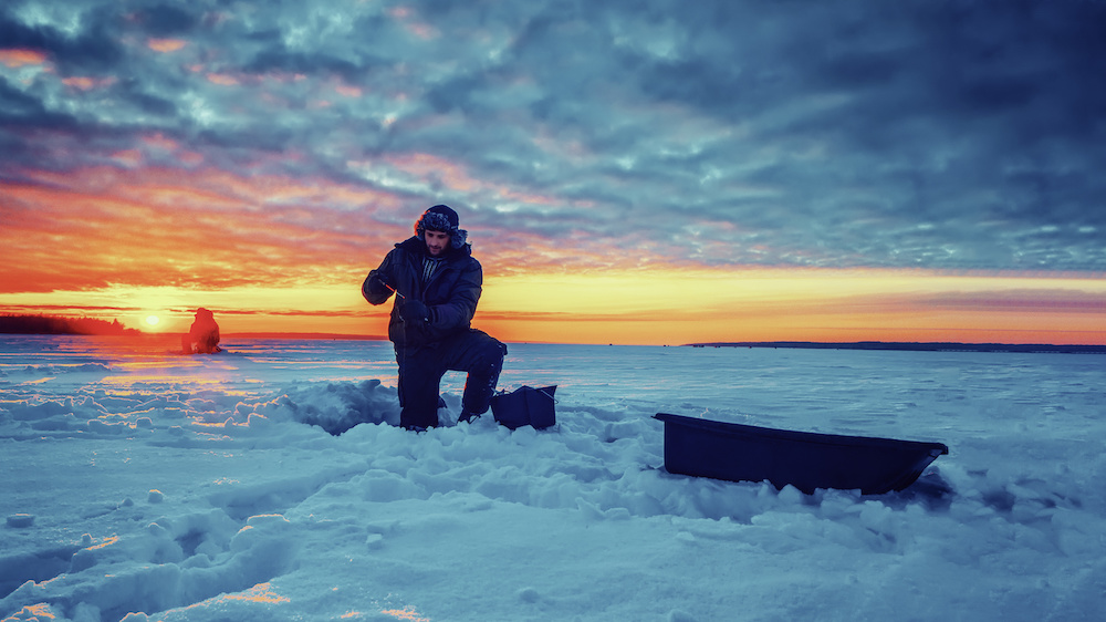 Traverse City Ice Fishing Guides