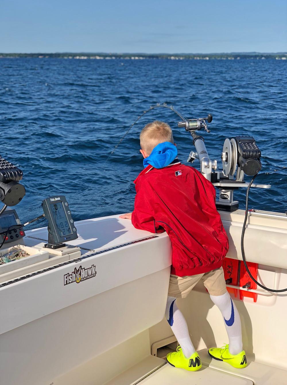 Megabite Fishing Charters Salmon Fishing
